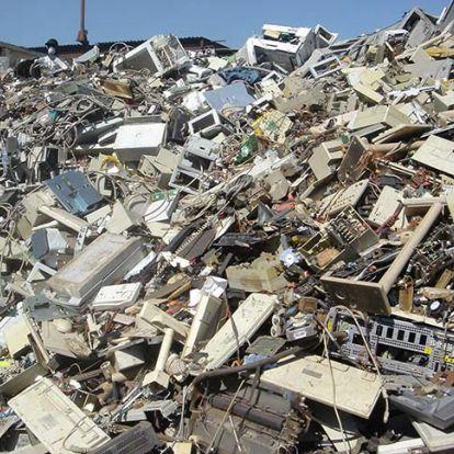 12 millió tonna elektronikai hulladék termelődött Ázsiában az elmúlt években