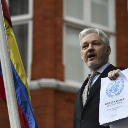 Hozzájárulhat amerikai kiadatásához Julian Assange