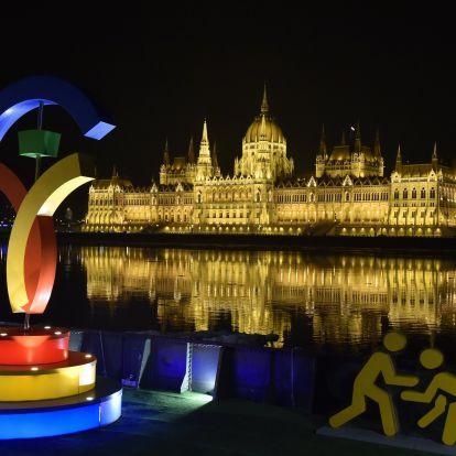 Budapest-szerte a 2024-es olimpiai pályázattal lehet találkozni