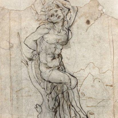 Francia nemzeti kinccsé nyilvánították a nemrég előkerült, ritka Leonardo-rajzot