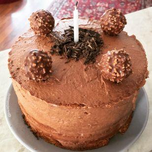 Nutellás muffin torta csokimániásoknak