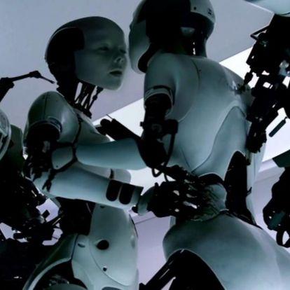 Unokáink már robotokkal szexelhetnek