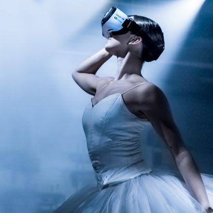 Virtuális balett-előadás: jelen a jövőben