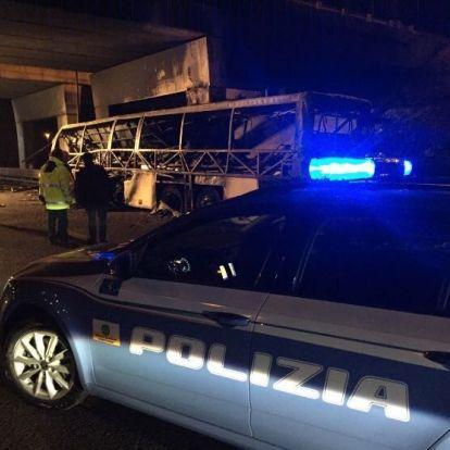 A sofőr figyelmetlensége okozhatta a veronai buszbalesetet