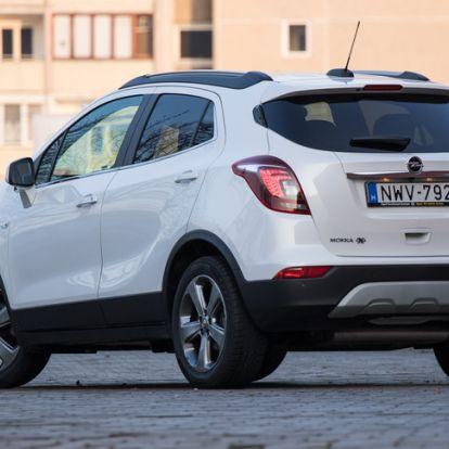 Már majdnem értem - Opel Mokka 1.6 d 4x4
