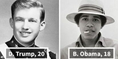 Így néztek ki az USA elnökei, amikor még csak huszonéves srácok voltak