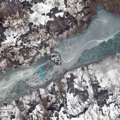 Kutatók a Balaton jegén – tavi üledékminták segíthetnek a klímaváltozás megértésében