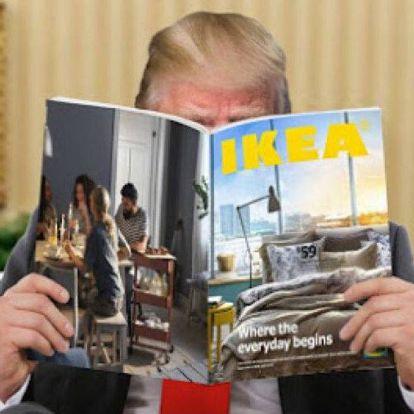 Úgy tűnik, Trump nem tudja, mi a különbség az IKEA és az al-Kaida között