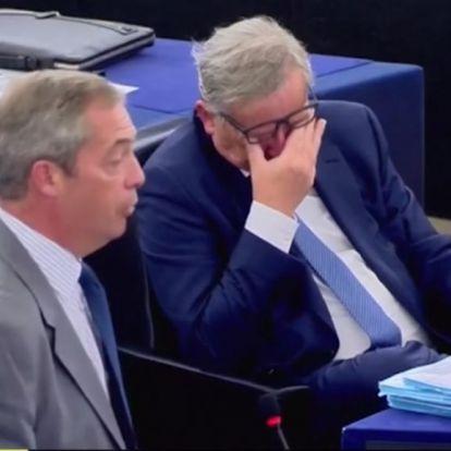 Ízesen megfenyegette a kilépő briteket Juncker