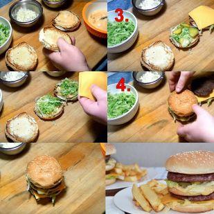 Big Mac házilag, ami jobb, mint az eredeti: a titkos szósz...