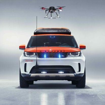 Drón is segíti az új életmentő Discovery-t