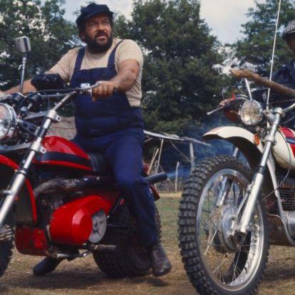 Ma 78 éves, a motorkedvelő Terence Hill