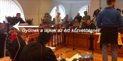 A média befolyásolja Gulyás Mártonék ítéletét
