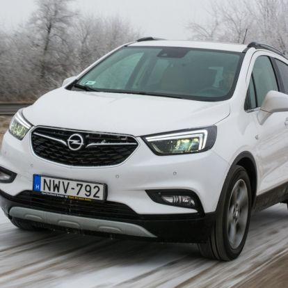 Az X rejti a kincset? – Opel Mokka X 1.6 CDTI teszt
