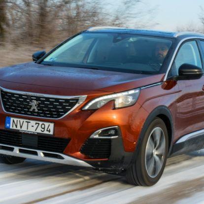 Rezes banda – Peugeot 3008 1.6 BlueHDi teszt