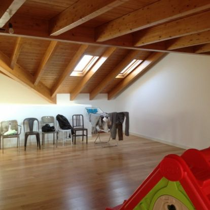 Padlásból minimalista lakás