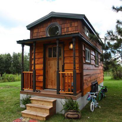 25 négyzetméteres családi ház