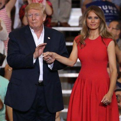 Ezek voltak (eddig) Donald és Melania Trump legkellemetlen pillanatai