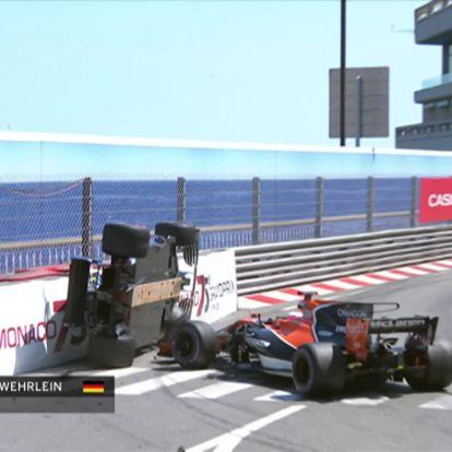 Ilyen bizarr ütközést sem mostanában láthattunk az F1-ben