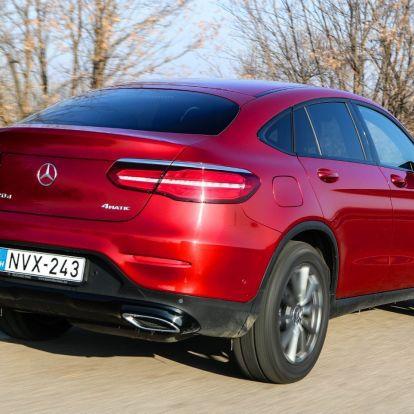 Szép dolog ez, mondhatom – Mercedes-Benz GLC 220 d 4Matic Coupé teszt