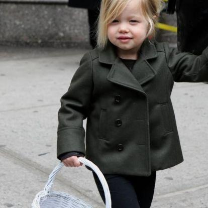 Így lett kamasz srác a cuki kislányból a Brad Pitt családban