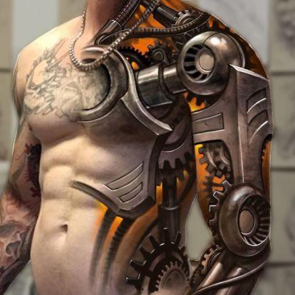 Emberek, akik robottá tetováltatták magukat