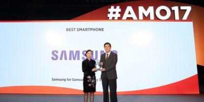 """A Samsung nyert """"Legjobb Okostelefon"""" kategóriában"""