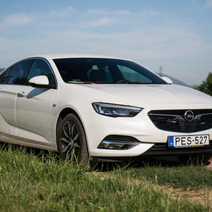 Köbcentimet egy deréktámaszért! - Opel Insignia 1,6 DTCI – 2017.