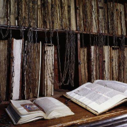 Miért láncolták le a középkori könyvtárak a könyveiket?