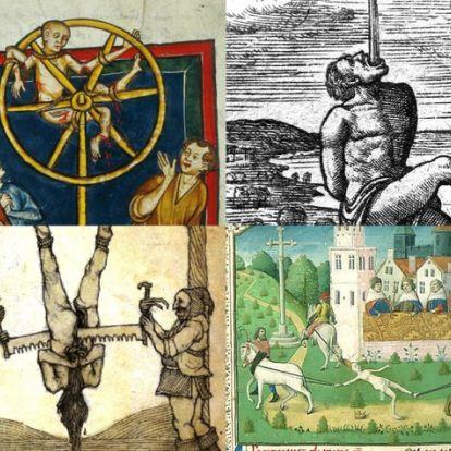 Kerékbe törés, tüzes korona és kannibalizmus – 10 brutális kínhalál a középkorból