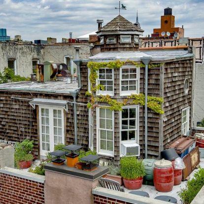 900 millió forint, és a tiéd is lehet New York egyik legmenőbb tetőtere