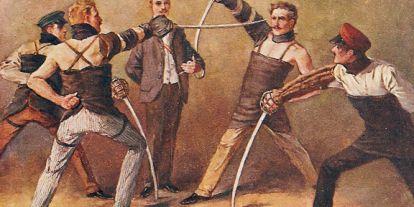 Magyar párbajhősök a 20. század elején