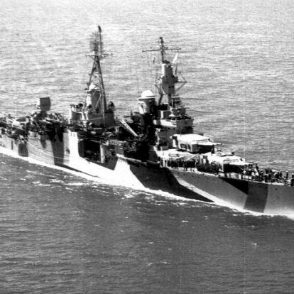 Megtalálták a 72 éve elsüllyedt halálhajót
