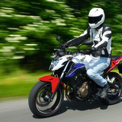 Farkasbőrben – Honda CB500F teszt