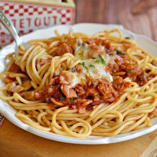 Villám ebédek: Milánói spagetti