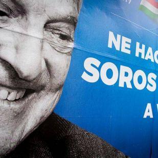 Megint jönnek a Soros-plakátok