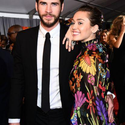 Ők voltak a filmbemutató legszebb párja - Miley Cyrus és Liam Hemsworth kéz a kézben