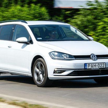 Ingajárat – Volkswagen Golf Variant 1.6 TDI DSG teszt