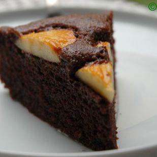 Csokoládés almatorta egyszerűen