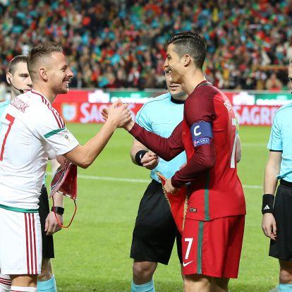 Dzsudzsák nem Cristiano Ronaldót látta a legjobbnak