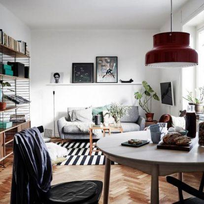 Skandináv stílusjegyek a lakásban