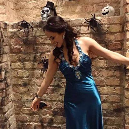 Volt egy tényleg félelmetes magyar Halloween jelmez is