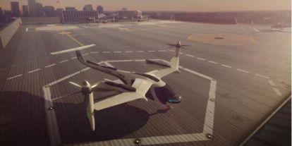 Repülő taxit fejleszt az Uber a NASA közreműködésével