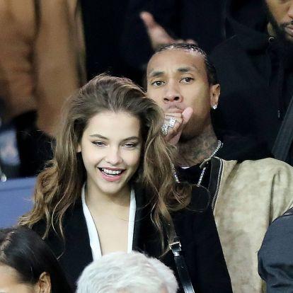 Palvin Barbara Kylie Jenner exével nézte meg Neymar meccsét