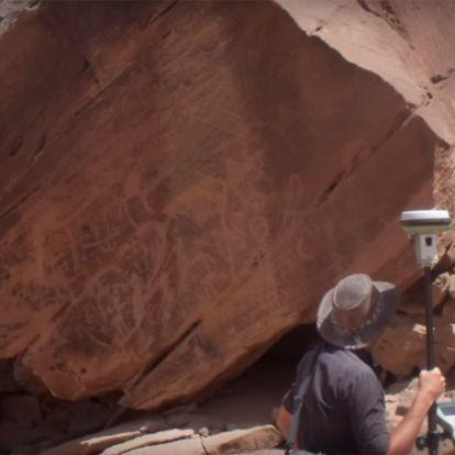 A legrégebbi kutyaábrázolásra bukkantak régészek Szaúd-Arábiában