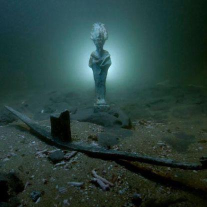 Római kori hajóroncsokra bukkantak Egyiptom partjainál