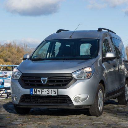 Kell-e félni a használt Daciától? - Használtteszt: Dacia Dokker 1.5 dCi – 2014.