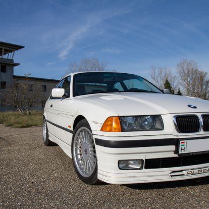 Hogy fért ebbe nyolc henger? - Alpina B8 – 1997.