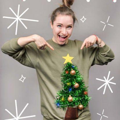 Készítsd el magadnak az év legrondább ronda karácsonyi pulcsiját!
