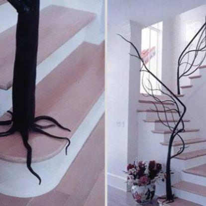 16 kreatív lépcső, ami különlegessé teheti otthonunkat